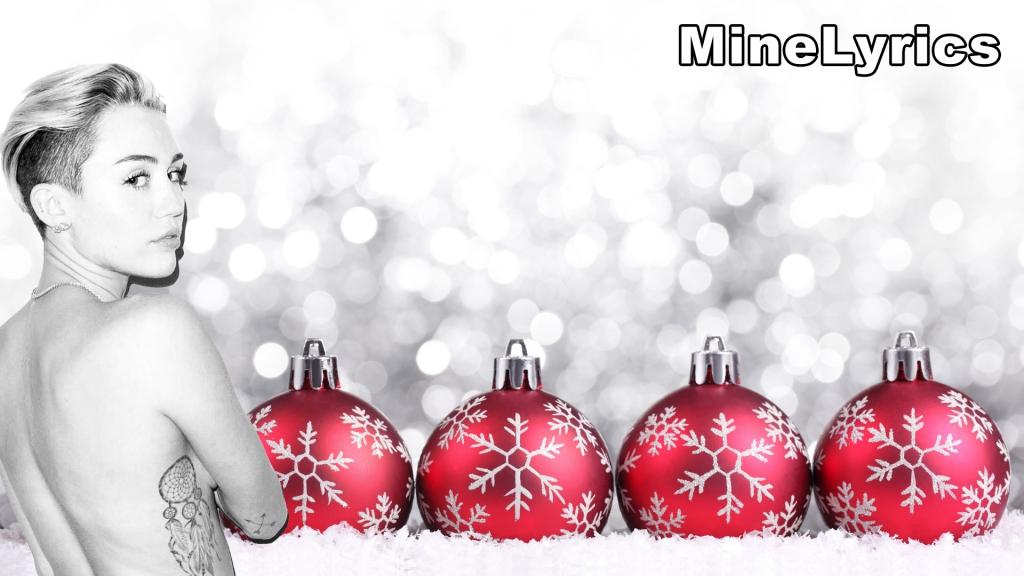 Miley Cyrus - My Sad Christmas Song Lyrics